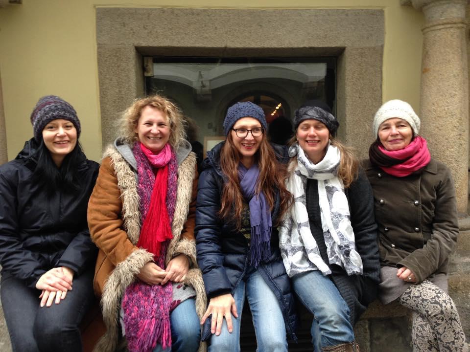 Gudrun Stolz, Martina Eigner, Martina Wagner, Doris Breuer und Ingrid Scheurecker (nicht am Bild Maria Steiner und Susanne Dullinger sowie die Wollwerkstatt ;-))